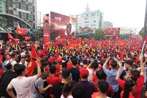TP Hồ Chí Minh trang bị nhiều màn hình lớn xem trận chung kết AFF Cup 2018