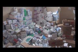 Quân đội Syria lại thu hoạch vũ khí của 'quân nổi dậy' ở Daraa