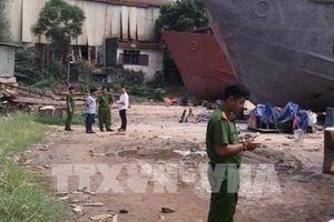 Tai nạn trong lúc sửa chữa tàu, 3 người thương vong