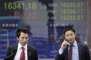 Chứng khoán châu Á đồng loạt giảm điểm