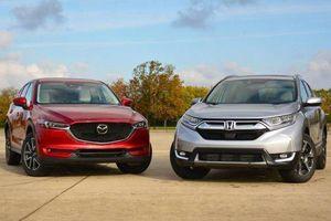 Cuộc ganh đua giữa Mazda CX-5 và Honda CR-V chưa có hồi kết