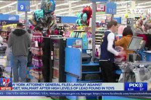 Mỹ: Bang New York kiện Walmart, Target bán đồ chơi nhiễm chì