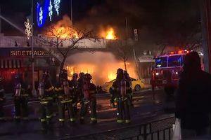 12 người bị thương trong 1 vụ cháy ở New York, Mỹ