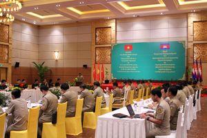Bộ đội biên phòng VN và Tổng cục Di trú Campuchia trao đổi kinh nghiệm