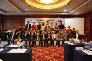 Lễ khai giảng Dự án khóa đào tạo nhân tài CNTT do Tập đoàn tài chính Hana tài trợ