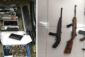 Phá đường dây buôn vũ khí quân dụng từ Nghệ An về Quảng Ninh