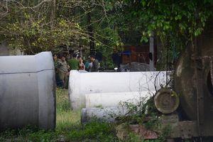 1 công nhân rơi xuống máy trộn bê tông tử vong