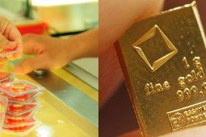 Giá vàng giảm phiên cuối tuần, nhà đầu tư gom hàng
