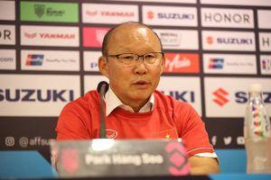 HLV Park Hang Seo: 'Tôi xúc động với chức vô địch AFF Cup 2018'