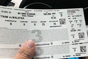 Giá vé 'chợ đen' xem chung kết lượt về AFF Suzuki Cup tăng phi mã