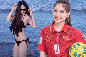 Bạn gái Quang Hải chia sẻ trước chung kết AFF Cup hút hàng ngàn 'like'