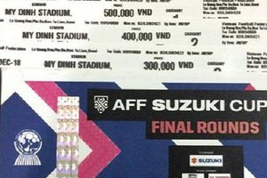 Sát giờ chung kết AFF Cup 2018 Việt Nam–Malaysia phe vé lao đao tìm người mua
