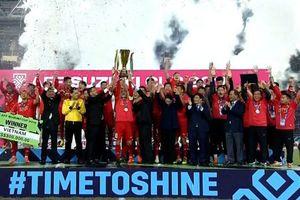 Clip: ĐT Việt Nam nâng cao chiếc cúp vô địch AFF Cup 2018