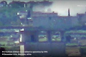 Dân quân người Kurd tiêu diệt 5 binh sĩ Thổ Nhĩ Kỳ ở Afrin, Aleppo