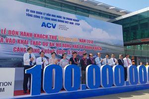 ACV đón hành khách thứ 100 triệu qua các cảng hàng không