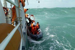 Đang tìm kiếm 3 thuyền viên mất tích ngoài khơi Vũng Tàu