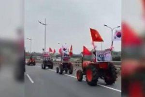 Sát giờ G, đội quân máy cày về Mỹ Đình cổ vũ đội tuyển Việt Nam
