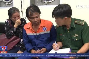 Khẩn trương tìm kiếm 3 thuyền viên mất tích trên biển Bà Rịa – Vũng Tàu