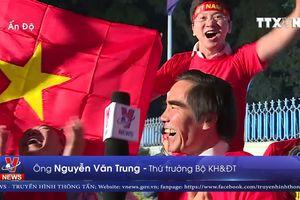 Khoảnh khắc ăn mừng chiến thắng của Đại sứ quán Việt Nam tại Ấn Độ