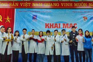 Thầy thuốc trẻ Thủ đô tình nguyện mùa đông
