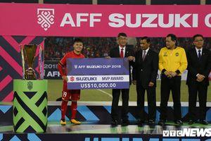 Quang Hải đoạt giải cầu thủ xuất sắc nhất AFF Suzuki Cup 2018