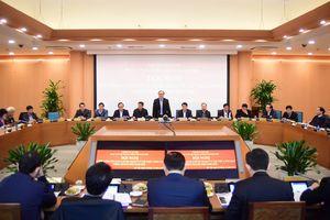 Ban Cán sự đảng UBND TP Hà Nội kiểm điểm công tác năm 2018