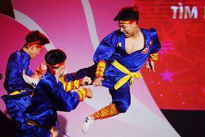 Màn võ thuật 'Hào khí Việt Nam' giành giải nhất cuộc thi Tìm kiếm tài năng sinh viên