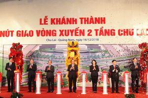 Quảng Nam: Khánh thành công trình nút giao thông vòng xuyến 600 tỷ đồng
