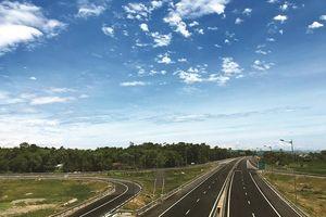 Điều chỉnh lưu thông trên cao tốc Đà Nẵng - Quảng Ngãi