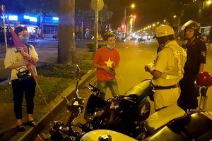 Hơn 100 xe máy ở Sài Gòn bị tạm giữ sau khi tuyển VN vô địch AFF Cup