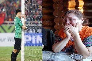 Mẹ thủ môn Đặng Văn Lâm bật khóc khi con trai cùng Việt Nam vô địch
