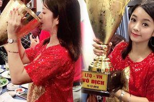 Hot girl làng hài khoe ảnh hôn 'Cúp vàng AFF 2018': Sự thật ngã ngửa