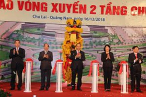 Khánh thành Nút giao thông vòng xuyến hai tầng Chu Lai