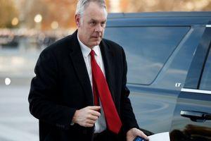Tổng thống Trump mất thêm Bộ trưởng Nội vụ