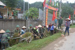 Trung đoàn 335, Sư đoàn 324 làm công tác dân vận