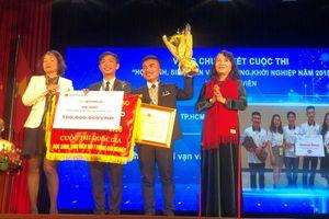 Trao giải Cuộc thi 'Học sinh, sinh viên với ý tưởng khởi nghiệp – SWIS 2018'