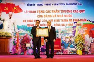 Thaco đón nhận Huân chương Lao động hạng Ba