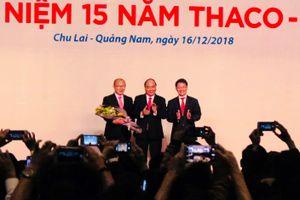 HLV Park Hang-seo cảm ơn bầu Đức và làm từ thiện 2 tỉ đồng
