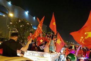 TP:HCM: 115 xe máy bị tạm giữ khi 'đi bão' mừng Việt Nam vô địch AFF Cup