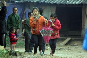Sương phủ kín, người dân vùng cao Nghệ An chống chọi với giá rét