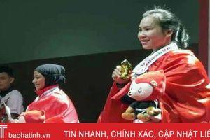 VĐV Hà Tĩnh giành HCV Giải Pencak Silat vô địch thế giới
