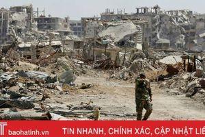 Thủ đô Syria vui mừng đón Giáng sinh không tiếng súng
