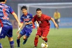 Dùng đội hình hai, U.21 Tuyển chọn Việt Nam vẫn đánh bại Gimhae CFC với tỷ số 3-0