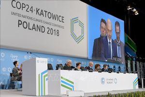 Bước tiến dài trong ứng phó biến đổi khí hậu