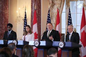 Ngoại trưởng Mỹ và Canada cam kết giải cứu 2 công dân Canada bị Trung Quốc bắt