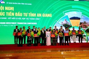 Hội nghị xúc tiến đầu tư An Giang năm 2018; Thu hút đầu tư hơn 132 ngàn tỷ đồng