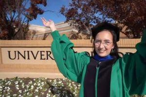 19 tuổi thành nữ tiến sĩ trẻ nhất trong lịch sử Đại học Bắc Texas