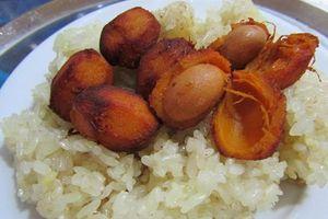 Những món ngon lạ độc từ quả cọ, lá cọ trên quê hương Công Phượng