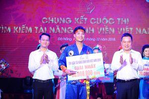 Màn võ thuật 'Hào khí Việt Nam' giành giải nhất cuộc thi tìm kiếm tài năng sinh viên Việt Nam 2018