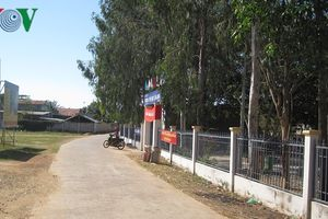 Đồng bào Chăm Bình Thuận nỗ lực giữ vững 'Nông thôn mới'